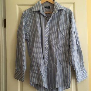Ted Baker Stripe beautiful dress shirt 14.5 neck